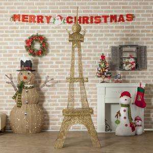 대형 골드 타워 장식(240cm)크리스마스장식 트리장식
