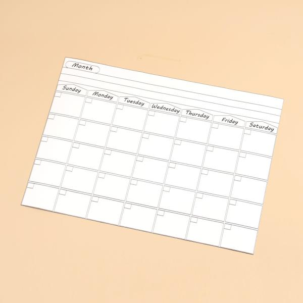 월간달력 자석 스케줄보드 냉장고달력 일정표