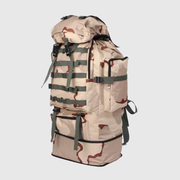 대형 등산 가방 수납 100L 생활 방수 밀리터리 백팩 콜럼