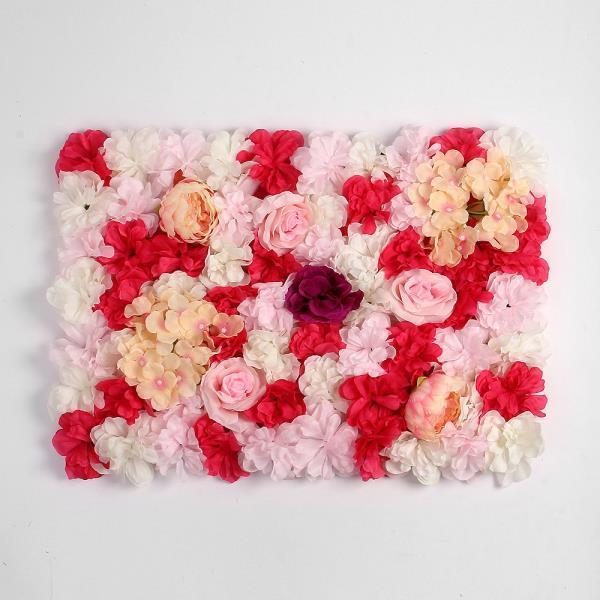 월데코 조화 꽃벽 FL07 플라워월 포토존 조화벽장식