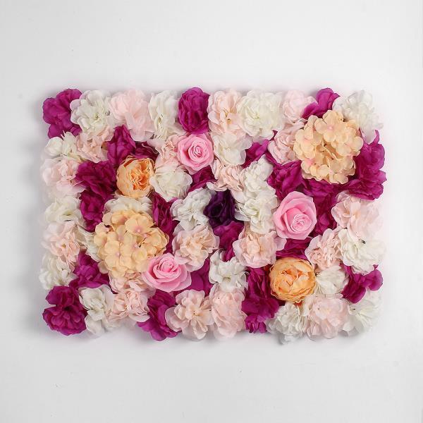 월데코 조화 꽃벽 FL06 플라워월 포토존 조화벽장식