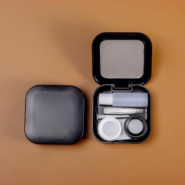 스퀘어 거울 렌즈케이스 5p세트 콘택트렌즈통