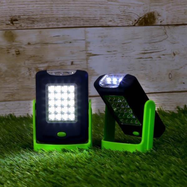 내담쇼핑몰 캠핑 랜턴 360도회전 후크 LED 캠핑랜턴 2p세트 손전등