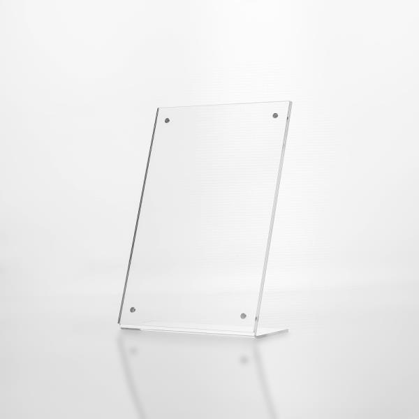 L자형 자석 아크릴 쇼케이스(A5) (세로형) POP안내판