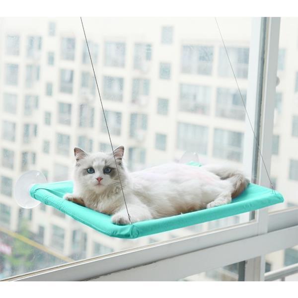 공간활용 고양이 윈도우 해먹 창틀해먹 고양이선반
