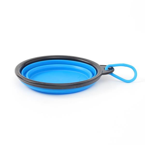 반려동물 접이식 밥그릇 2p세트 애완외출용밥그릇