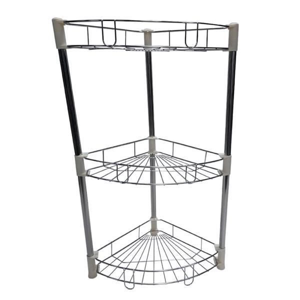 욕실용품 수납정리대 3단
