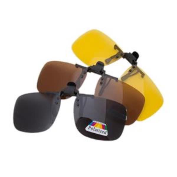 Polarized 편광클립 중형 선글라스 편광렌즈