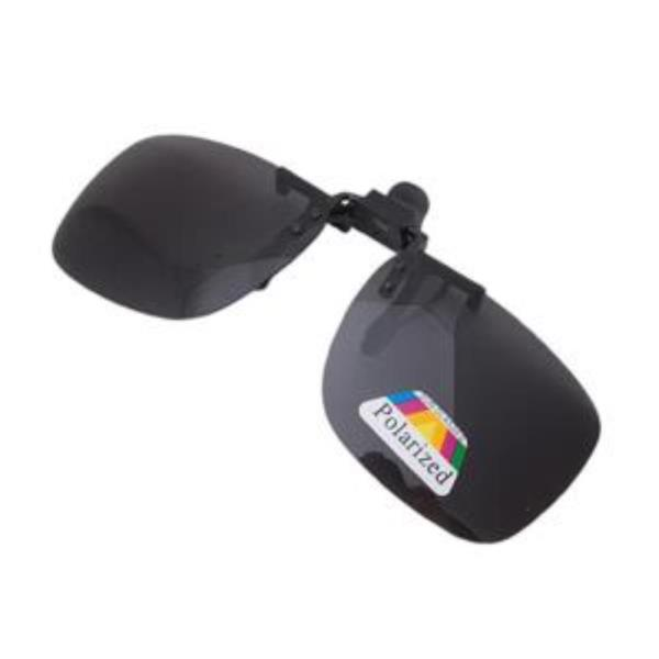 편광클립 중형 선글라스 편광렌즈 블랙