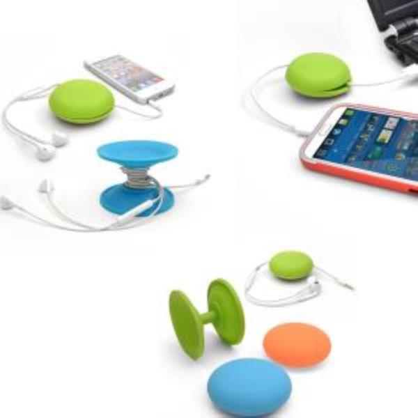 휴대용 케이블 줄감개 이어폰 선정리