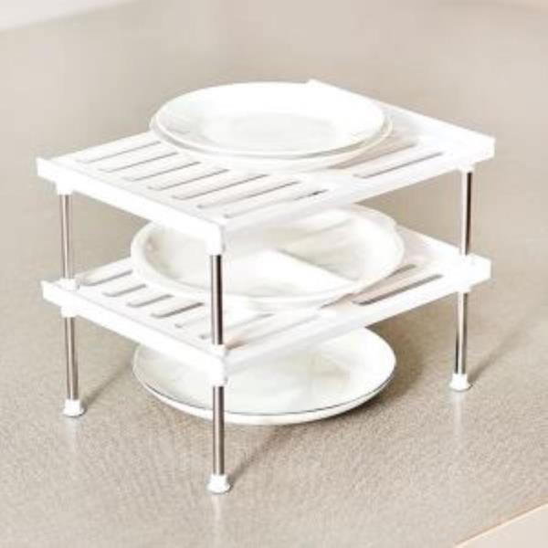화이트 접시정리대 2단 1세트