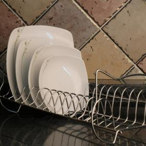 원룸 주방 접시거치대 접시정리대