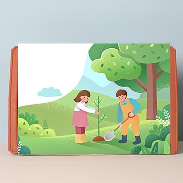 키우기쉬운식물 베란다텃밭 화분 열매 재배세트