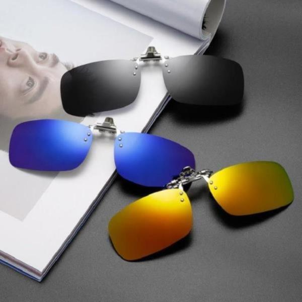 안경 위에 쓰는 클립 무테 자외선차단 편광 선글라스