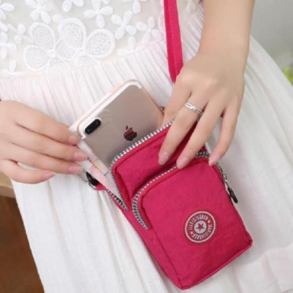 여자 미니 핸드폰 크로스백 휴대폰 파우치 손목 가방