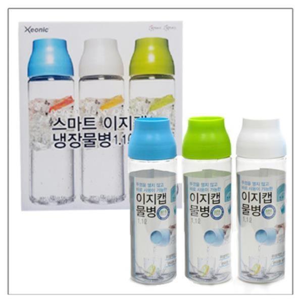 이지캡 냉장고물병 1.1L 3종