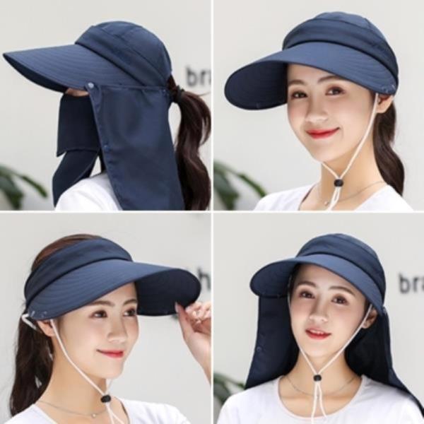 챙넓은 여성 산책 등산 골프 낚시 농사 썬캡 모자