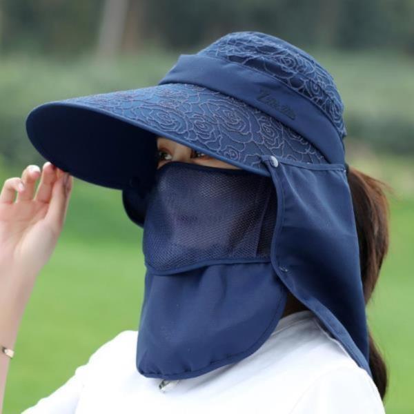 햇빛차단 밭일 작업 과수원 그늘막 모자 햇볕가리개