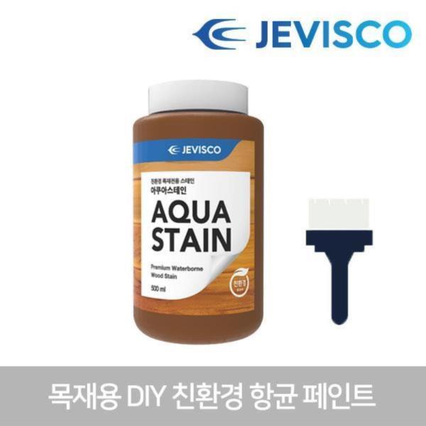 아쿠아스테인 302 백색 0.5L 목재용페인트