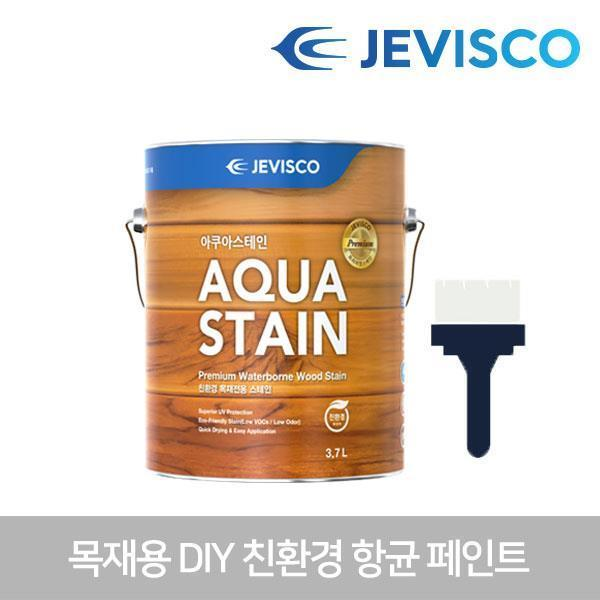 아쿠아스테인 302 백색 3.7L 목재용페인트