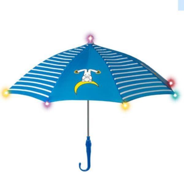 LED불빛 아동우산 반달토끼 안전우산 색상선택
