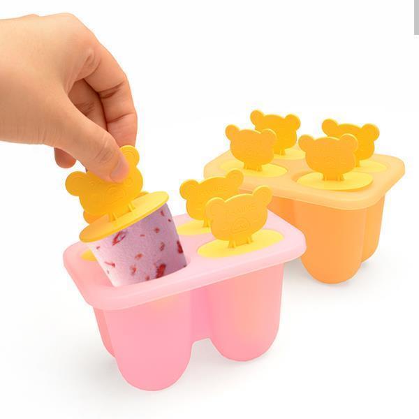 실리콘 아이스크림틀 [곰돌이] 주방용품