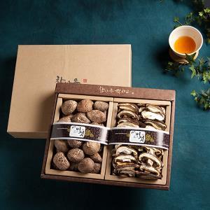 경성표고버섯 동고 2종세트 250g/참나무원목표고버섯