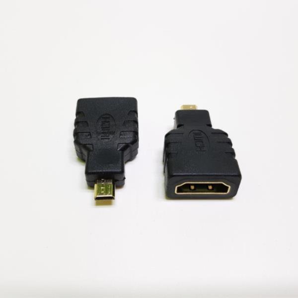 MICRO HDMI (M) - HDMI (F) 영상 케이블 변환젠더