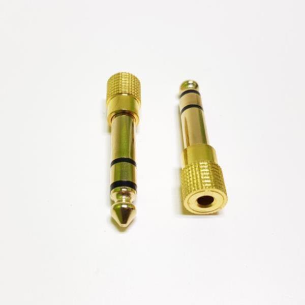 스테레오 AUX 3.5(F) - 5.5(M) 변환젠더