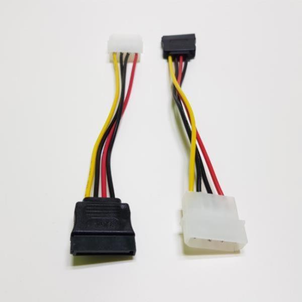 IDE 4핀 - SATA 전원 케이블 10cm