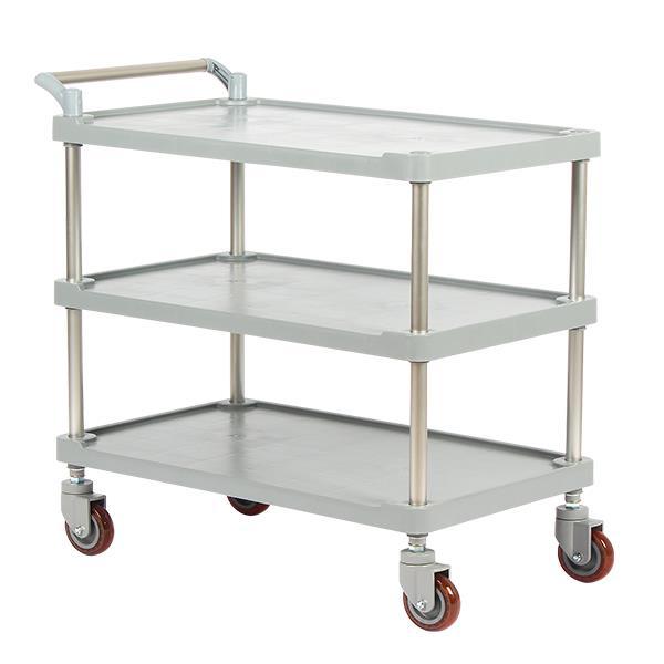 태희산업 3단 클립형A 대형 다용도 카트