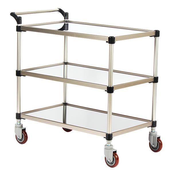 태희산업/프리미엄 스텐 서빙카 3단 클립형A - 대형