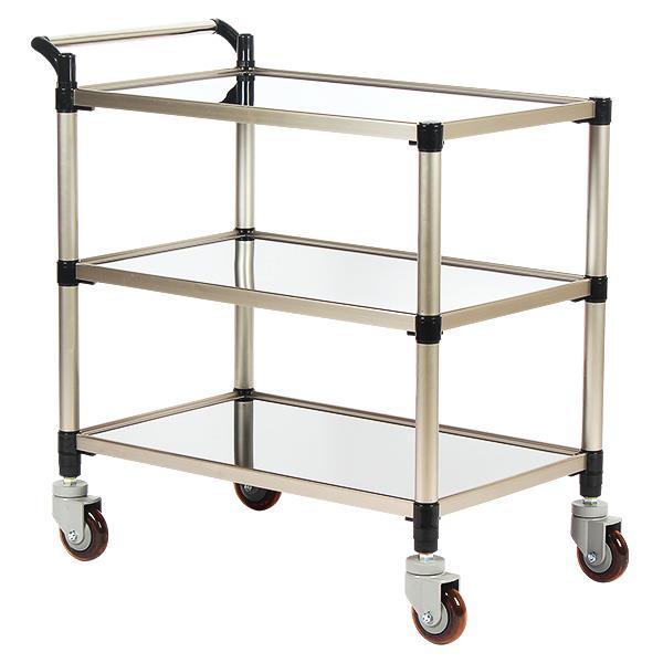 태희산업/프리미엄 스텐 서빙카 3단 조립형A - 중형
