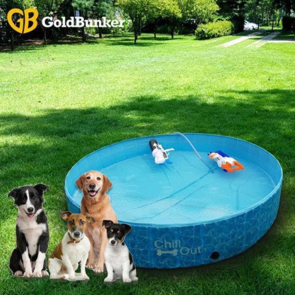 애견 접이식 수영장 욕조 고양이 목욕 풀장 소형 8000