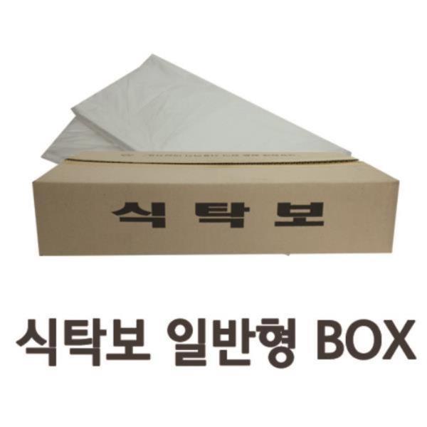 깔끔한 일회용 비닐식탁보 일반형 (50매x6개) BOX