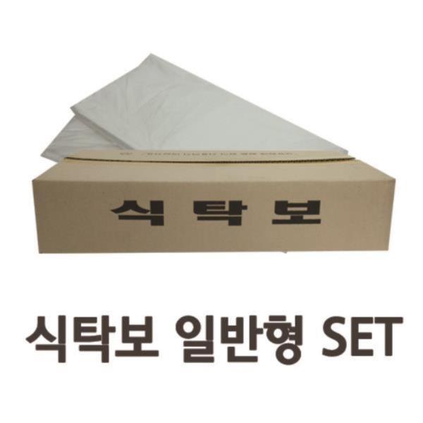 깔끔한 일회용 비닐식탁보 일반형 (50매x3개) SET