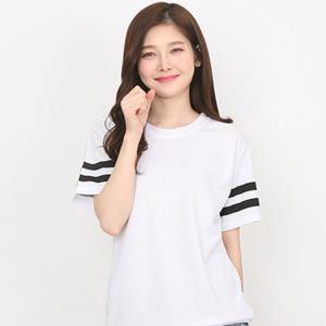 반셔츠 캐주얼 투라인 티셔츠
