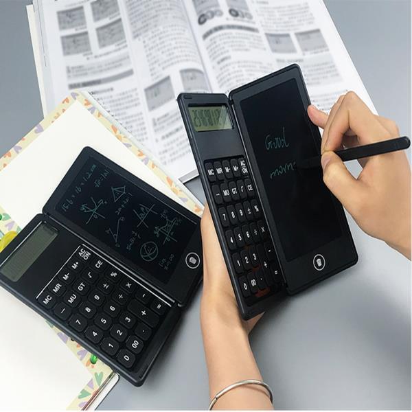 사무용 전자계산기 탁상용 계산기 심플 버튼식 사무용계산기 일반계산기 회계 가정용 공부 휴대용 똑똑한 메모가능 전자칠판 필기 메모패드