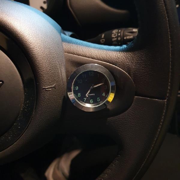 붙이는시계 시간관리 차량 인테리어 에이치플러스몰  가성비짱 아날로그시계