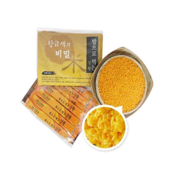 기능성 영양건강쌀  ghs강황쌀100g 스틱형