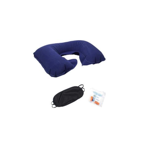 여행용목베개 3종세트/목쿠션 기내용 수면안대 귀마개