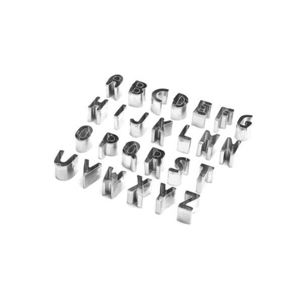 알파벳 쿠키커터 26P/모양틀 쿠키틀 베이킹 스텐레스