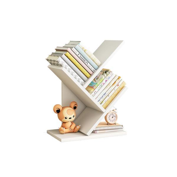 책장 코너 슬라이딩 인테리어 원목 가정용 사무용 간편 이동식 선반 작은 공부방 3단책꽂이