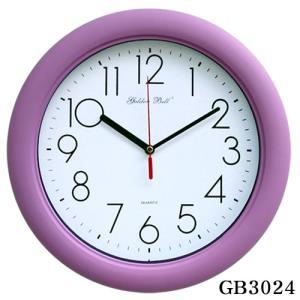GB3024 고급 무소음 보라 벽시계 32cm 제조한국