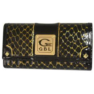 LW9512 정품 GBL 여성용 럭셔리 블랙 크링크 장지갑