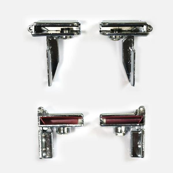 유리경첩 (무보링)