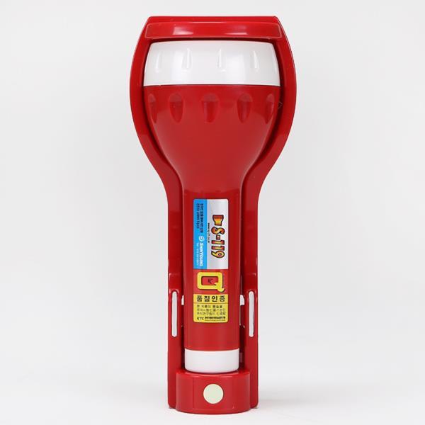 소방자재 휴대용비상조명등 신영 LED 무음