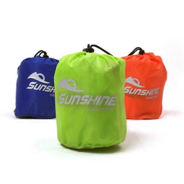 자동공기주입 베개 에어베개 캠핑 낚시 야영 소풍