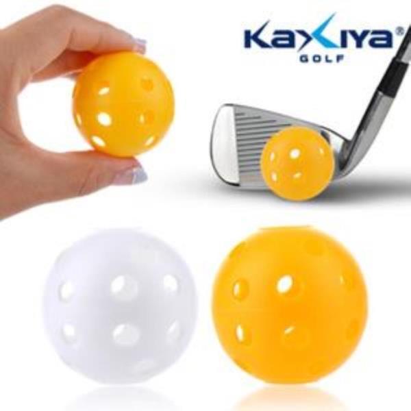 xe 플라스틱구멍공(12개입) 골프연습볼 골프연습용품
