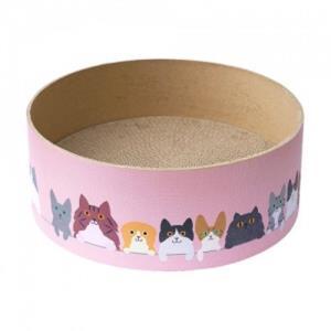 pet 온캣 라운지써클 스크래쳐 고양이 휴식 놀이터